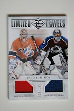 2012-13 12-13 Panini Limited Limited Travels Patrick Roy #56/199