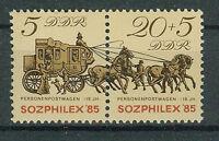 DDR Briefmarken 1985 SOZPHILEX Mi.Nr.2965-2966** postfrisch