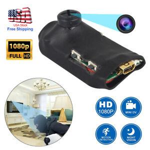 1080 HD Screw pinhole hidden spy Camcorder camera DVR nanny video recorder dv