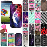 For Samsung Galaxy S4 I9500 I9505 I337 TPU Flexible Silicone Rubber Case Cover