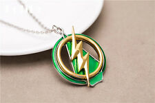 DC Comics The Flash Green Arrow Crossover Pendant Necklace PREMIUM QUALITY!