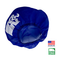 K&N E-3211PL Blue Round Closed Top PreCharger Air Filter Wrap E-3211 Pre Charger