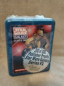 Topps Star Wars Galaxy Series 2 Deluxe Factory Tin Trading Card Set NEW RARE