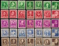 United States Scott 859 - 893 Famous Americans MINT