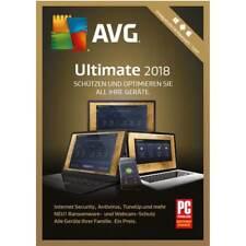 AVG ULTIMATE 2018 * ZEN * Unbegrenzt, 1, 2, 3, 5, 10 PC, Handy * Lizenz * 1 Jahr