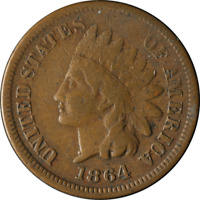 1864-L Indian Cent Great Deals From The Executive Coin Company