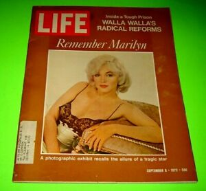 SEPTEMBER 8, 1972 LIFE MAGAZINE REMEMBERING MARILYN MONROE!
