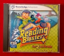 Reading Blaster for 2nd Grade JumpStart Win 95/98  MAC PC CD NEAR-MINT   #N6