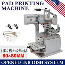 Label Logo Trademarks Printer Manual Pad Printing Equipment Machine Commercial