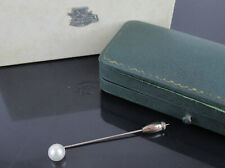 Authentic MIKIMOTO Genuine Japan Akoya 7mm Pearl Hat Pin Brooch