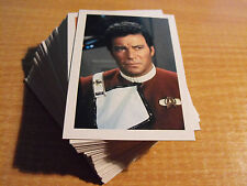STAR TREK III THE SEARCH FOR SPOCK SET OF 60 BASIC CARDS + 20 CARD SHIPS SUBSET