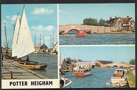 Norfolk Postcard - Views of Potter Heigham   DP984