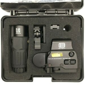 eotech HHS Holographic Sight-558 Holographic with G33 Magnifier Black