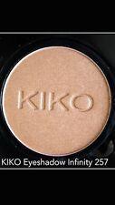 KIKO Milano infinity highly pigmented eyeshadow in Metallic Light Copper  #257