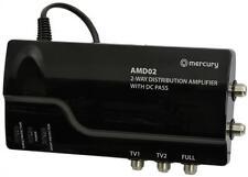 Mercury 2 Way Amd02 VHF UHF Distribution Amplifier