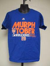 NEW-MINOR FLAW- NEW YORK METS MURPH TOBER 2015 YOUTH S SMALL 8 MAJESTIC T-SHIRT