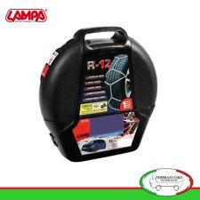 Catene da neve 155/70R13 155 70 13 da 12mm Lampa R12 Omologate Gruppo 3 - 16023