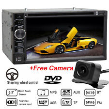 """For Ford F-150 F-250 6.2"""" 2 Din Stereo Car HD DVD Radio Bluetooth TouchScreen FM"""