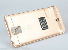 GOLD 3800mAh Extended Battery Power Juice Back Case for Samsung Galaxy Note 4 IV