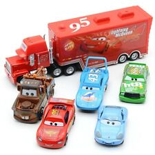 Disney Pixar Cars Set Lightning Mcqueen Mack Uncle Truck Rescue Collection toys