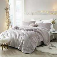 Silver Orchid Quirk Oversized Champagne Pink Comforter champagne pink King, King