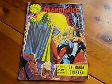 MANDRAKE n° 56 de 1965 UN MONDE DISPARU Bon état / très bon état