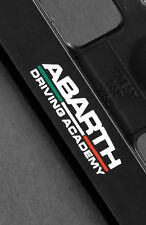 2 x Fiat Abarth Number Plate Frame Surround Holder