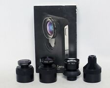 iPro Lens System Wide Angle Telephoto Fisheye lenses NO CASE iPhone 4 4s