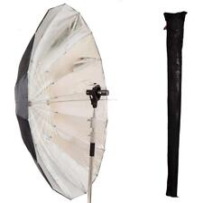 Reflective Parabolic Umbrella |185cm Silver Reflective Umbrella