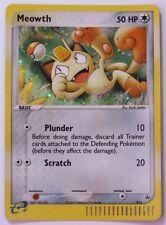 Meowth HOLO Promo #013 - Black Star Rare Pokemon Card