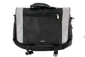 "Foray 18"" Water resistant Carry on Travel Lap Top Bag Black"