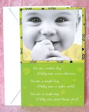 New Baby Greeting Card with Free Envelope Congratulations Love Infant Miracle