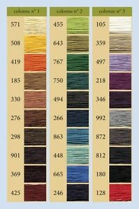 Sajou Cable Linen Thread Size 332 CHOOSE COLOR 133 Meter Spool