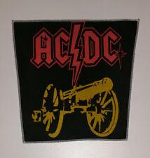 Rückenaufnäher, vintage back patch, AC/DC, hard rock,