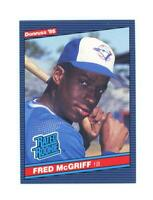 1986 Donruss #28 Fred McGriff NM-MT RC Rookie Blue Jays Rookie Card