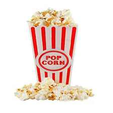 Plastic Popcorn Containers - Set of 4 Top Quality