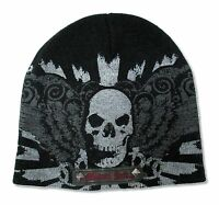 Miami Ink Winged Skull Beanie New Official