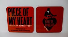 Off Broadway Theater Musical Piece of My Heart Bert Berns Story 2 Coasters