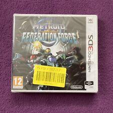 Metroid Prime Federation Force (Nintendo 3DS, UK, 2016) *Brand New Sealed*
