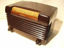 Restored Airline Model 74BR-1503B Antique 1947 Vintage Working Tube AM Radio