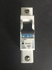 Proteus 616BW B16 16A MCB