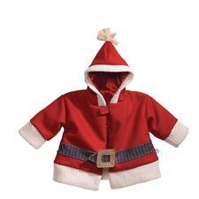 NWT Gund Baby Santa Costume 3-12 Months Jacket