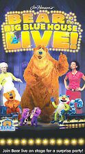 New Factory sealed Bear In the Big Blue House Live VHS tape , 2003