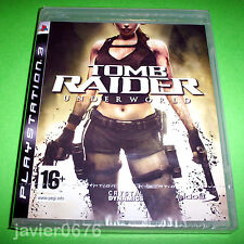 TOMB RAIDER UNDERWORLD NUEVO PRECINTADO PAL ESPAÑA PLAYSTATION 3 PS3