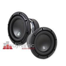 """2 JL AUDIO 6W3v3 Car Stereo 6-1/2"""" Subwoofers 6W3v3-4 Subs 4-Ohm 200W Pair New"""