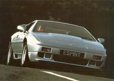 Lotus Esprit Turbo SE 1991-92 UK Market Leaflet Sales Brochure