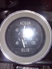 alfa romeo gt sprint, gtc, gta, gtv, gt junior stepnose acqua olio gauge