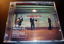 "New! NAT KING COLE ""The World Of Nat King Cole"" (CD 2005) 28-Tracks ***SEALED***"