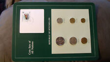 Coin Sets of All Nations Seychelles all 1982 UNC w/Card Bird stamp