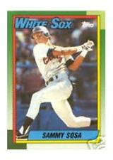 1990 Topps Sammy Sosa Chicago White Sox #692 Baseball Card
